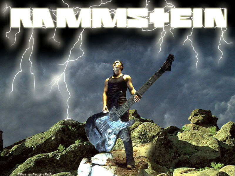 Пазл Собирать пазлы онлайн - Rammstein