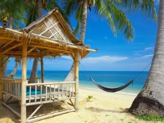 Собирать пазл Райский уголок онлайн