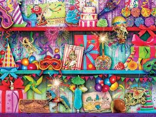 Собирать пазл Разные подарки онлайн