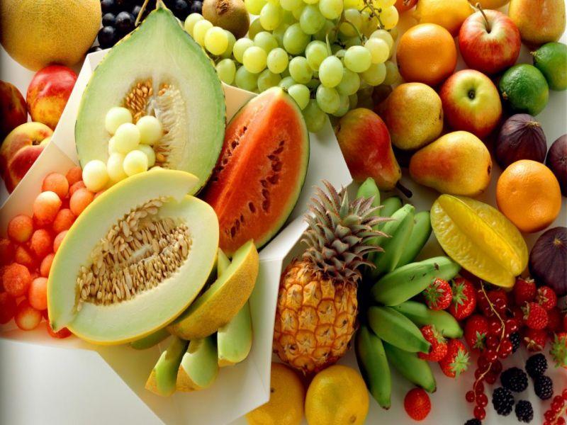Пазл Собирать пазлы онлайн - Разнообразие фруктов