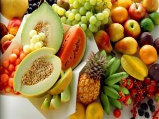 Собирать пазл Разнообразие фруктов онлайн