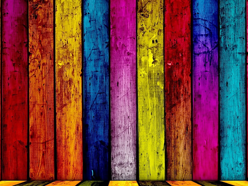 Пазл Собирать пазлы онлайн - Разноцветная стена