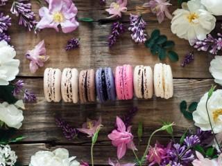 Собирать пазл Разноцветный десерт онлайн