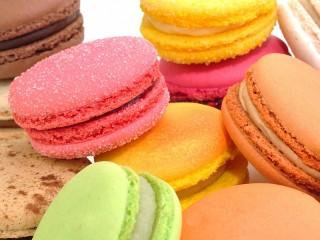 Собирать пазл Разноцветное печенье онлайн