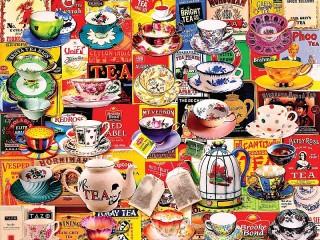 Собирать пазл Разновидности чая онлайн
