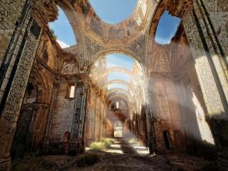 Собирать пазл Развалины монастыря онлайн