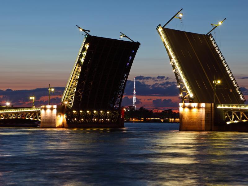 Пазл Собирать пазлы онлайн - Разводной мост