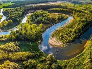 Собирать пазл Река Морава в Чехии онлайн