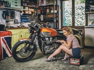 Собирать пазл Ремонт мотоцикла онлайн