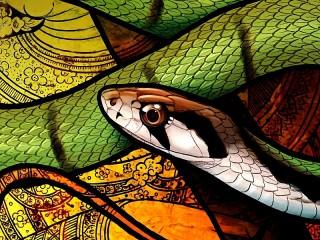 Собирать пазл Рептилия онлайн