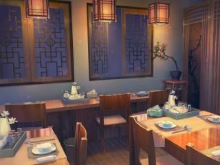 Собирать пазл Ресторан онлайн