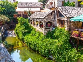 Собирать пазл Ресторан в Мостаре онлайн