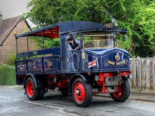 Собирать пазл Ретро-грузовик онлайн