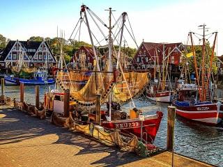 Собирать пазл Рыбацкая пристань онлайн