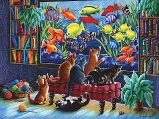 Собирать пазл Рыбки онлайн