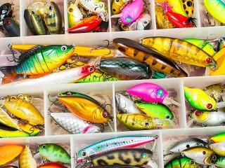 Собирать пазл Рыболовные крючки онлайн