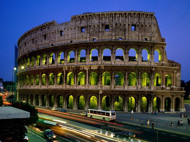 Пазл Собирать пазлы онлайн - Рим Колизей