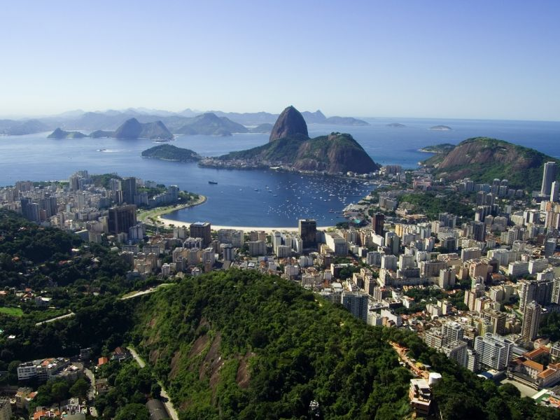 Пазл Собирать пазлы онлайн -  Город Рио Де Жанейро