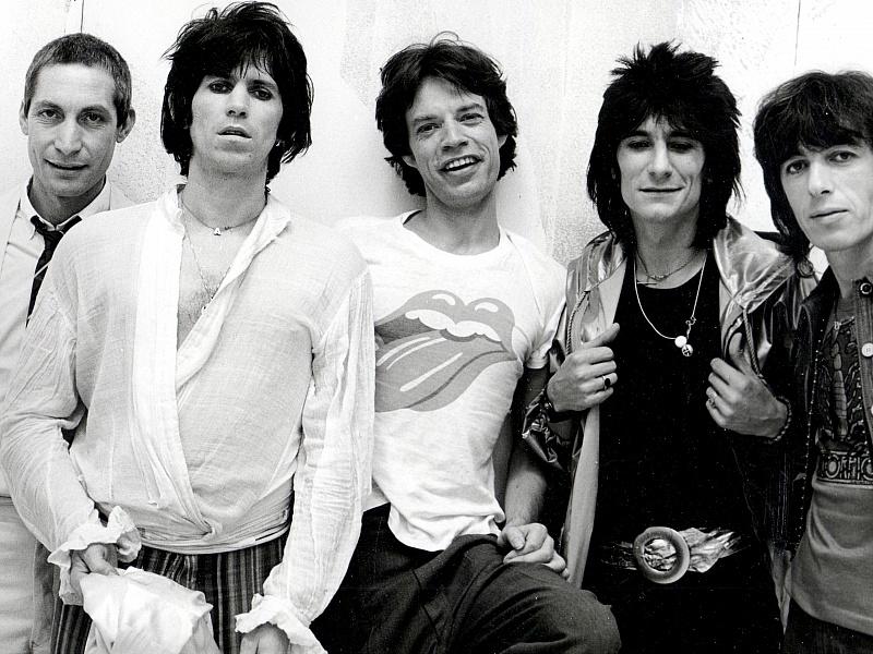 Пазл Собирать пазлы онлайн - Rolling Stones