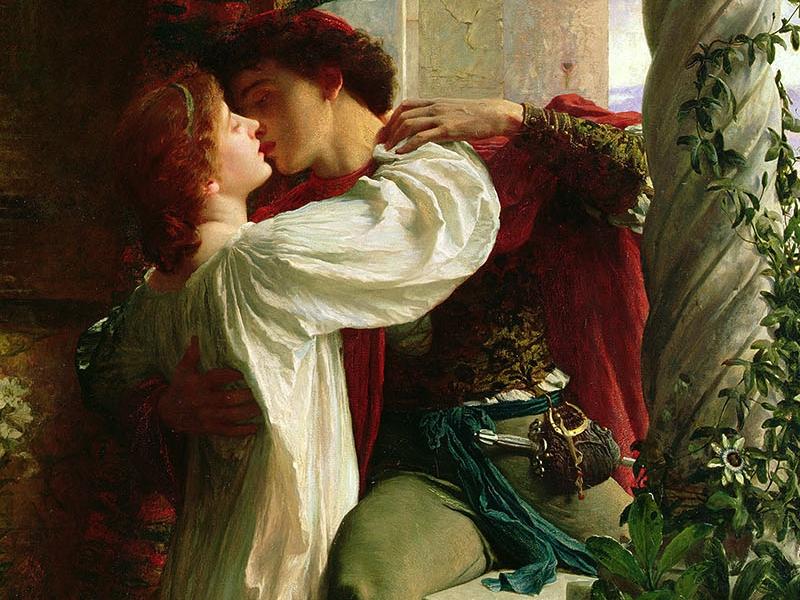 Пазл Собирать пазлы онлайн - Ромео и Джульетта