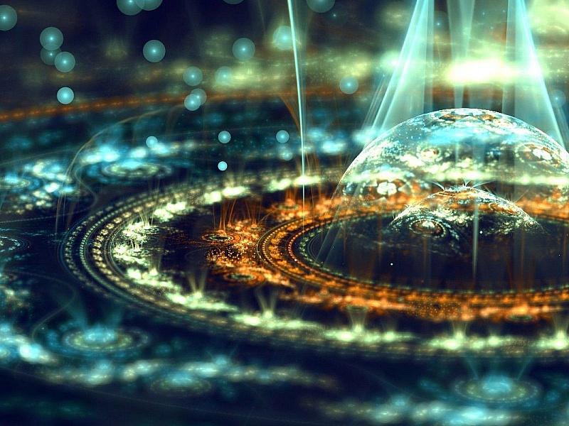 Пазл Собирать пазлы онлайн - Рождение галактики
