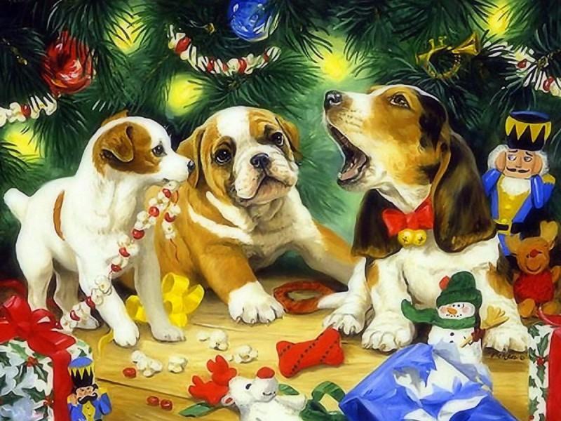 Пазл Собирать пазлы онлайн - Рождественская песня