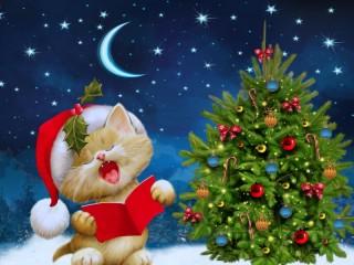 Собирать пазл Рождественская песня онлайн