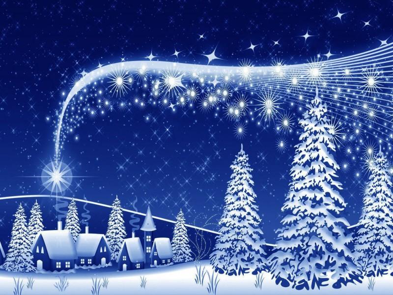 Пазл Собирать пазлы онлайн - Рождественская звезда