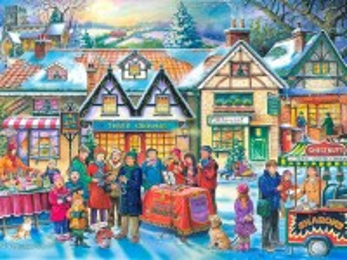 Собирать пазл Рождественские песни онлайн