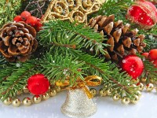 Собирать пазл Рождественский колокольчик  онлайн