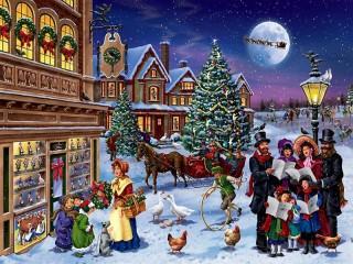 Собирать пазл Рождественский гимн онлайн