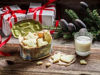 Собирать пазл Рождественское угощение онлайн