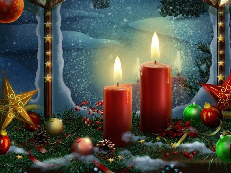 Пазл Собирать пазлы онлайн - Рождество