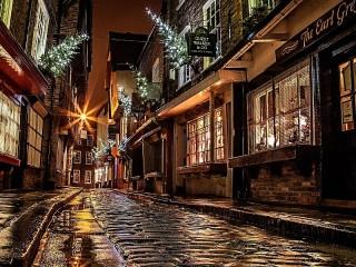 Собирать пазл Рождество в Англии онлайн