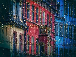 Собирать пазл Рождество в Германии онлайн
