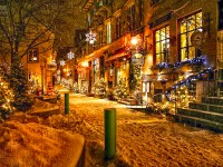 Собирать пазл Рождество в Квебеке онлайн