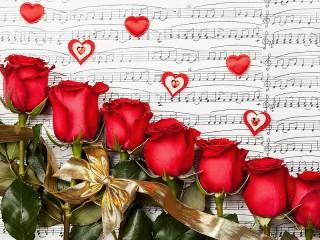 Собирать пазл Розовая песня онлайн