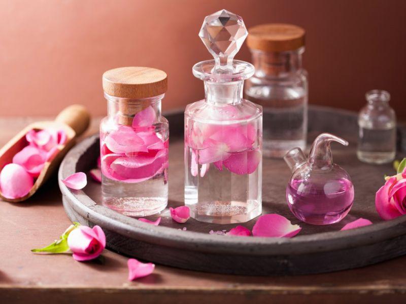 Пазл Собирать пазлы онлайн - Розовый аромат