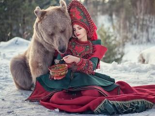 Собирать пазл Ручной медведь онлайн