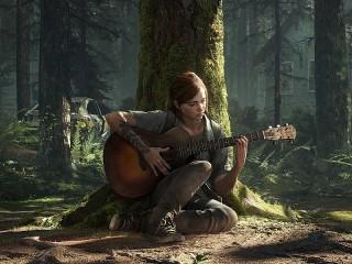 Собирать пазл С гитарой в лесу онлайн