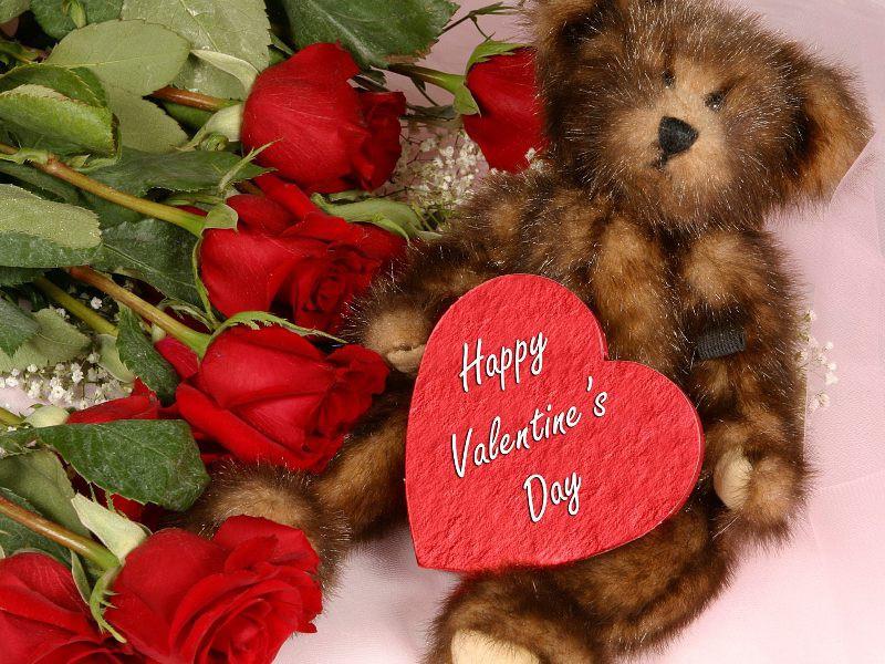 Пазл Собирать пазлы онлайн - С Валентиновым днём