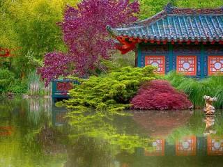 Собирать пазл Сад онлайн