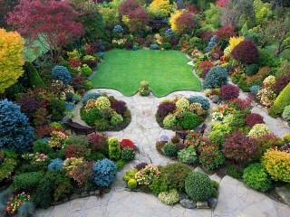 Собирать пазл Сад Walsall в Англии онлайн