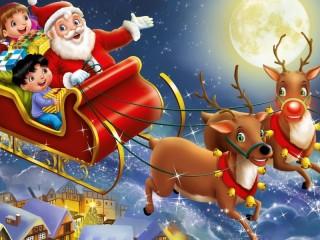 Собирать пазл Санта Клаус онлайн