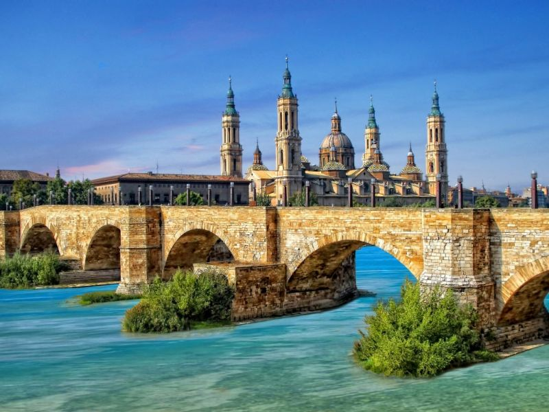 Пазл Собирать пазлы онлайн - Испания - Сарагоса