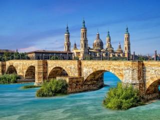 Собирать пазл Испания - Сарагоса  онлайн