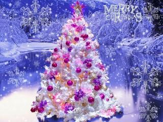 Собирать пазл Счастливого Рождества онлайн