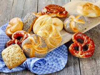 Собирать пазл Сдобные булочки онлайн