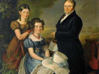 Собирать пазл Семейный портрет онлайн