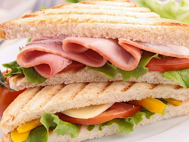 Пазл Собирать пазлы онлайн - Сэндвич